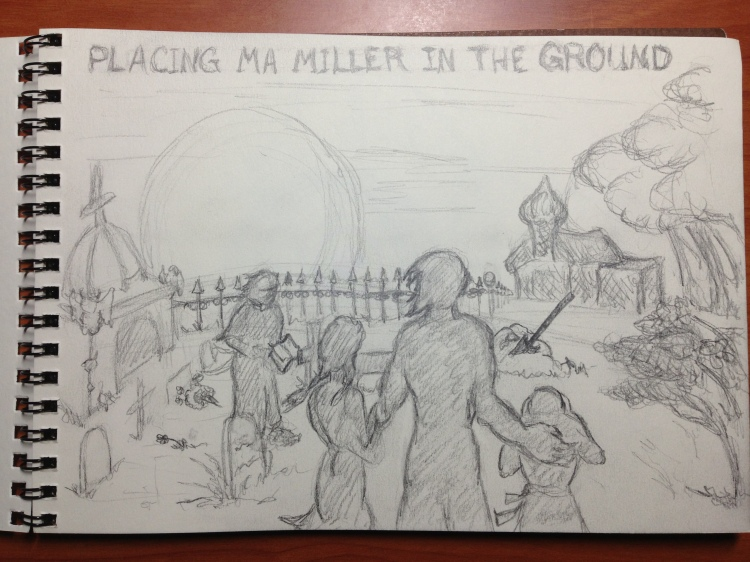 Ma Miller's Funeral