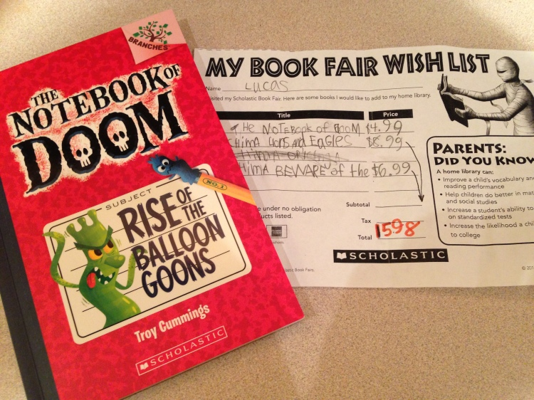 Scholastic Book Fair 2013